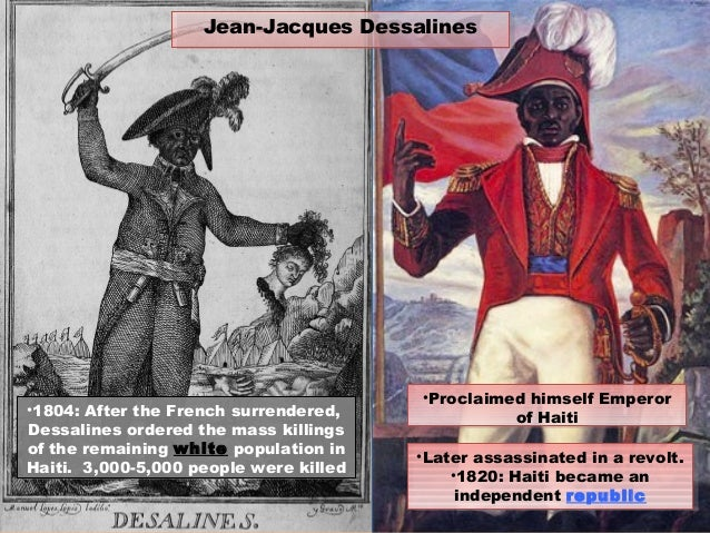 the impact of the french revolution in the haitian revolution Interactions with environment before  the haitian revolution was affected by a lot of different events  the impact on the french economy which could be.