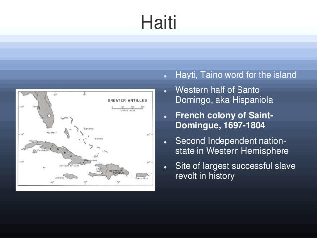 an overview of the nation of haiti and the island hispaniola Vox borders s1 • e1 divided island: how haiti and the dr  black in latin america (episode 1) haiti and the dominican republic- the  things not to do while in dominican republic or.