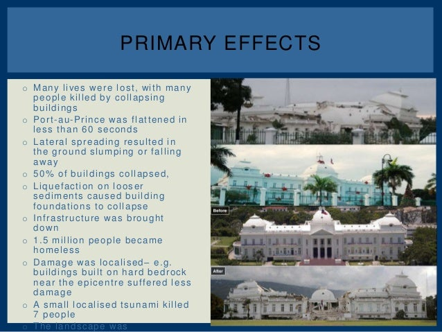 Haiti case study