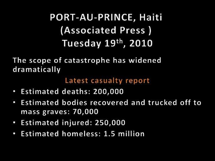 Haiti (English) Slide 2