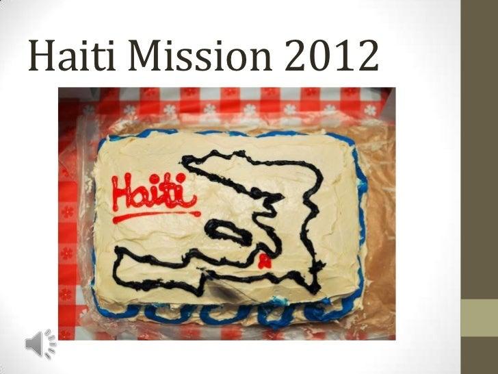Haiti Mission 2012