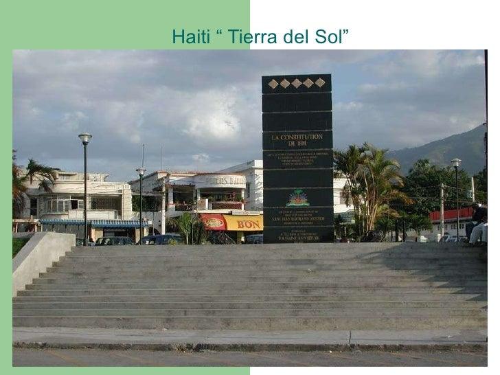 "Haiti "" Tierra del Sol"""