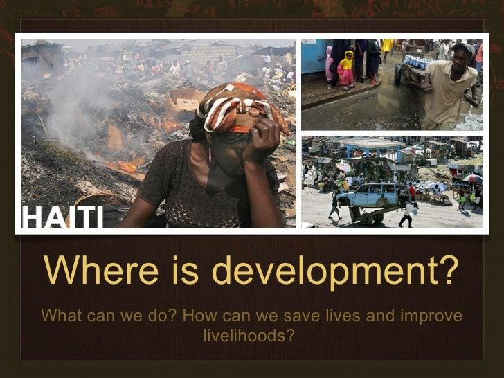 Haiti Presentation Slide 2