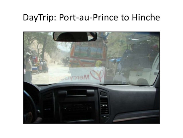 DayTrip: Port-au-Prince to Hinche