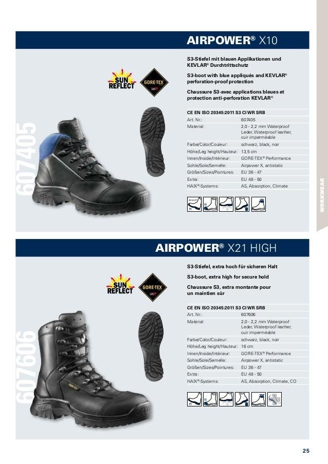 Haix Airpower X10 Bequem und Sicher: Einsatzstiefel für