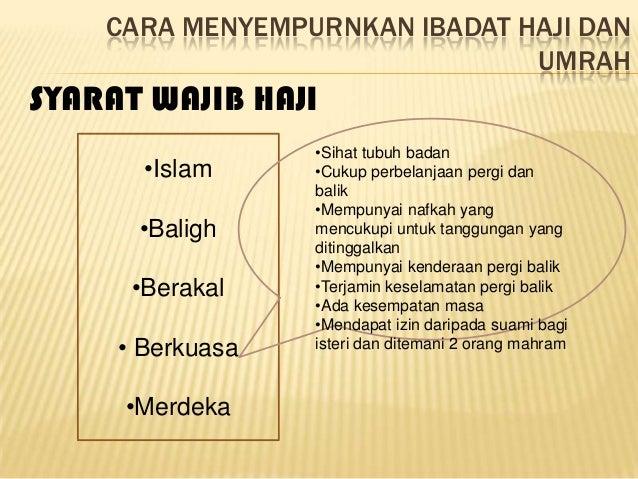 Haji Dan Umrah