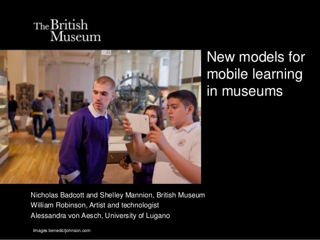 New models for                                                       mobile learning                                      ...
