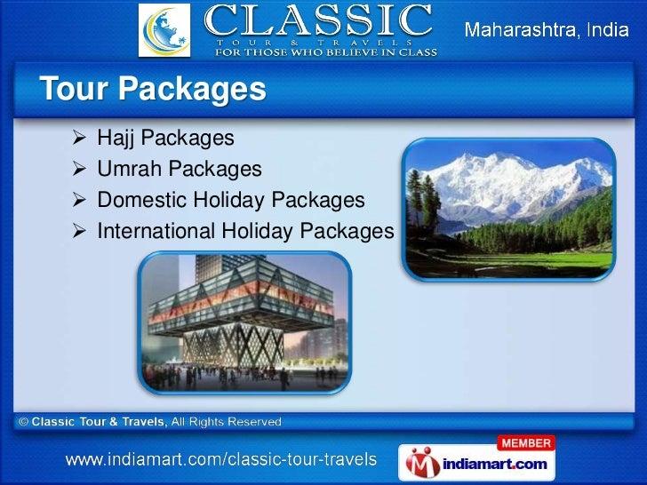 Classic Tours And Travels Mumbai
