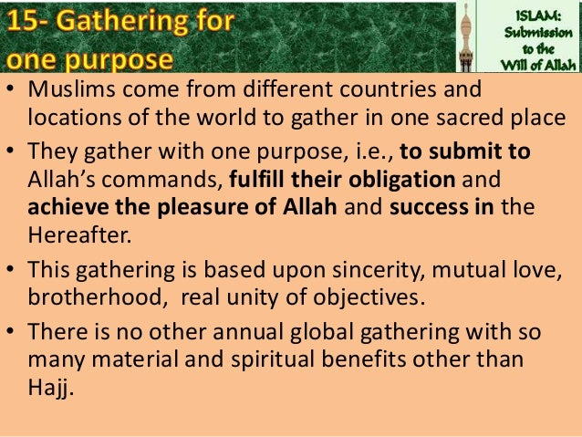 the significance of the hajj on Hajj is the most vivid manifestation of belief in tawheed hajj is the open and defying negation of all false gods hajj is refutation of all false parameters of greatness made and maintained by ignorance and arrogance hajj is the most evident and effective lesson of equality and brotherhood to mankind.
