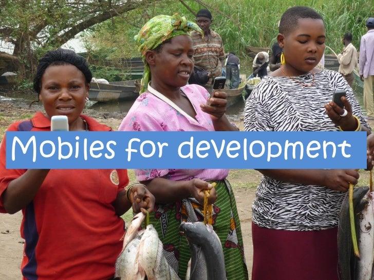 Mobiles for development