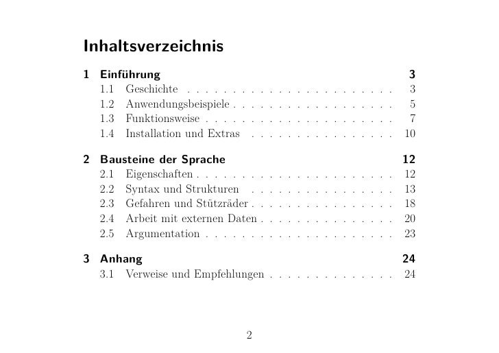 Inhaltsverzeichnis1 Einführung                                                                                      3  1.1...