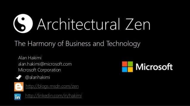 Alan Hakimi                  alan.hakimi@microsoft.com                  Microsoft Corporation                         @ala...