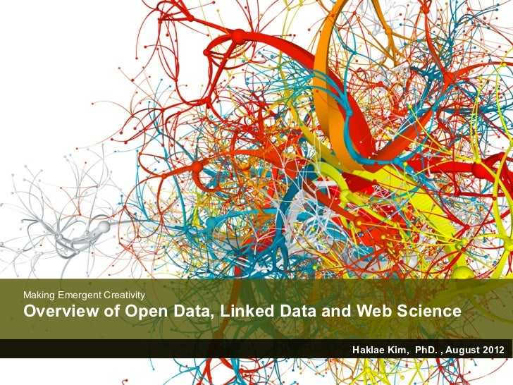 Making Emergent CreativityOverview of Open Data, Linked Data and Web Science                                     Haklae Ki...