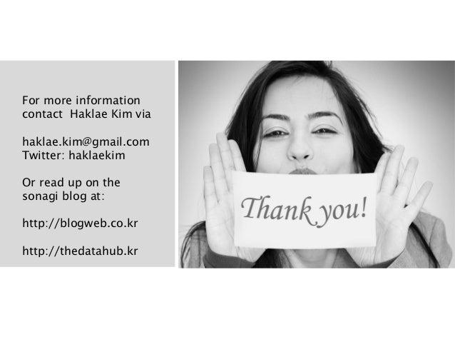 For more informationcontact Haklae Kim viahaklae.kim@gmail.comTwitter: haklaekimOr read up on thesonagi blog at:http://blo...