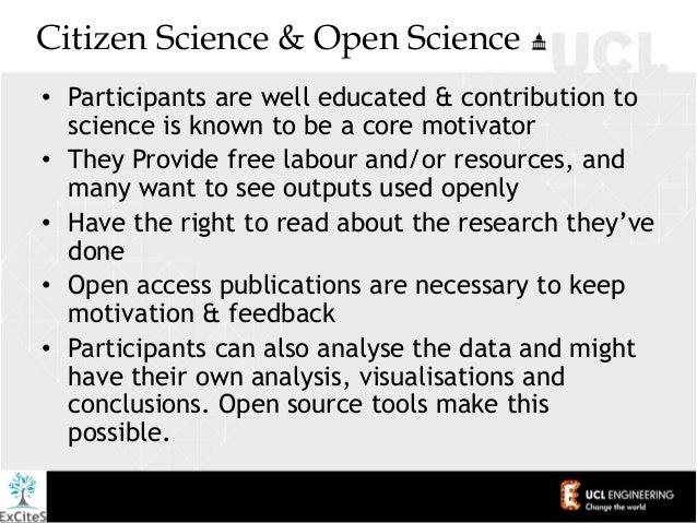 Participatory [Citizen] Science