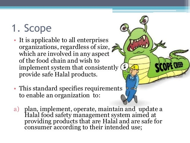 Updating the food safety management system