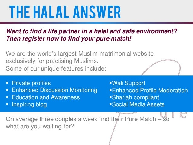 Halal dating definition