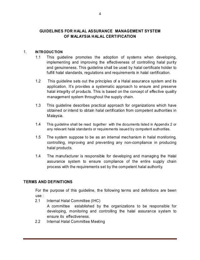halal assurance system rh slideshare net Halal Certification Tongkat Ali Halal Certification for Vaccines