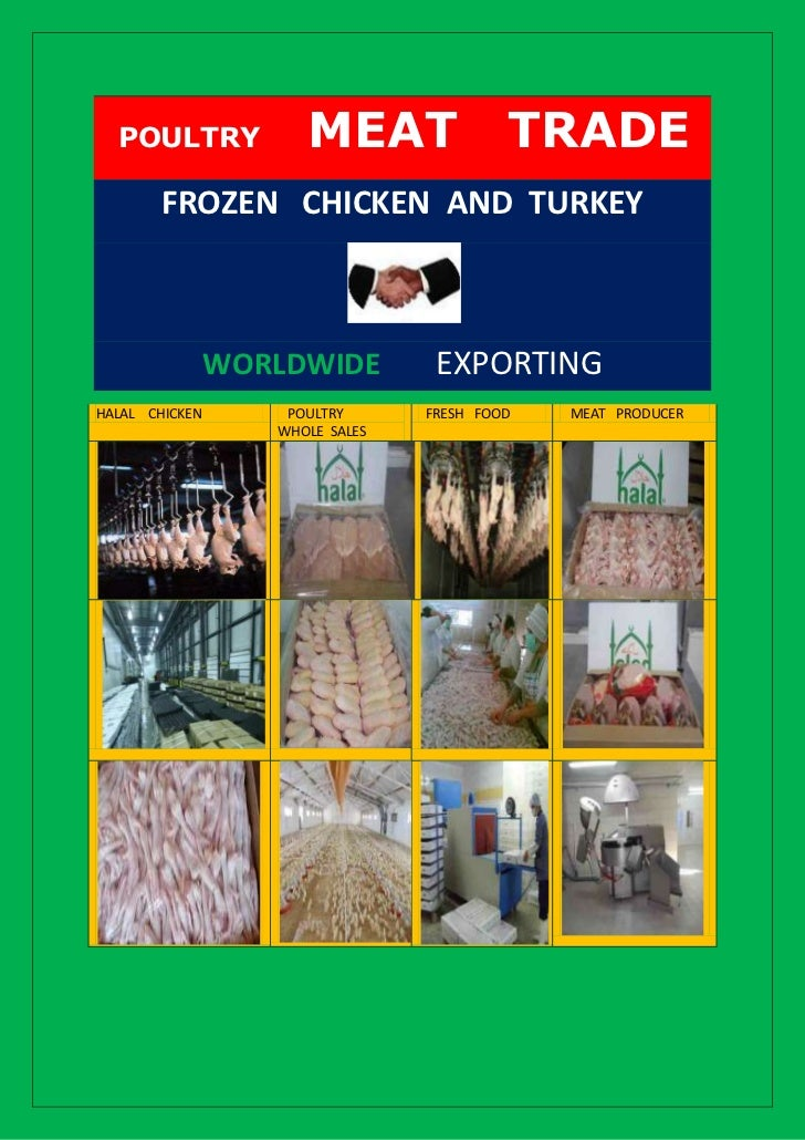 POULTRY             MEAT                TRADE        FROZEN CHICKEN AND TURKEY                WORLDWIDE         EXPORTINGH...