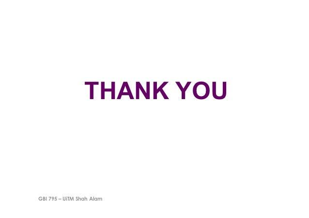 THANK YOUGBI 795 – UiTM Shah Alam