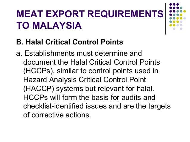 Halal Standard Slaughtering