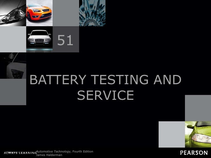BATTERY TESTING AND SERVICE 51