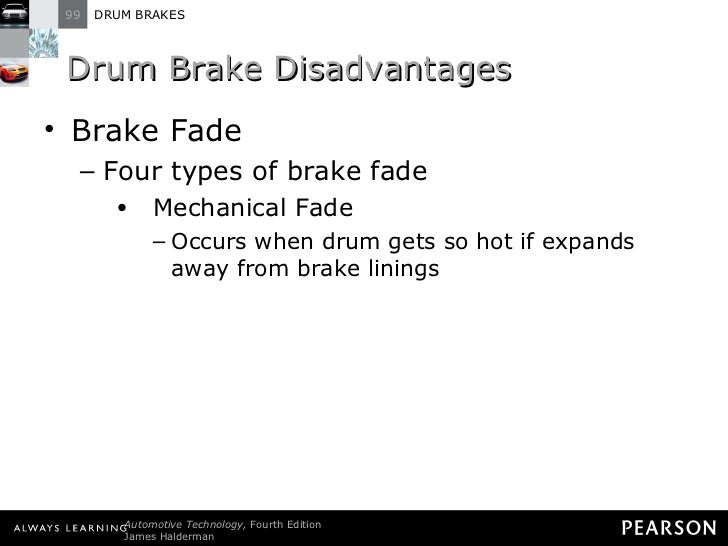 Types Of Brake Fade : Halderman ch lecture