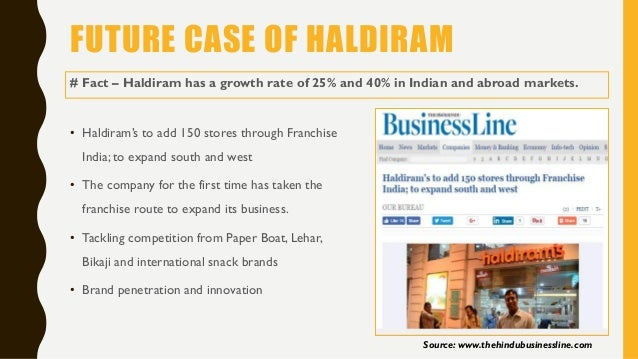 Haldiram - Marketing PPT