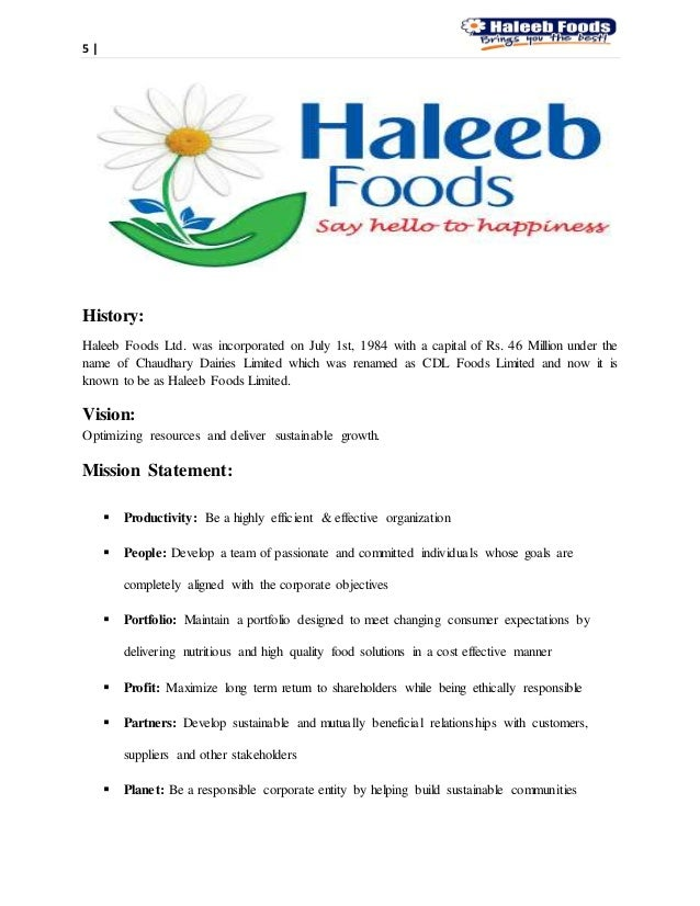 haleeb relaunch report Tetra pak essays and research papers according to the biannual research report released by tetra pak haleeb foods.