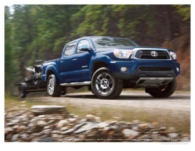 Haley Toyota Roanoke >> Toyota Tacoma Brochure From Haley Toyota Roanoke