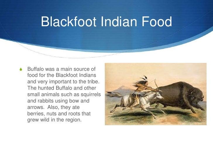 Food Blackfoot Indians