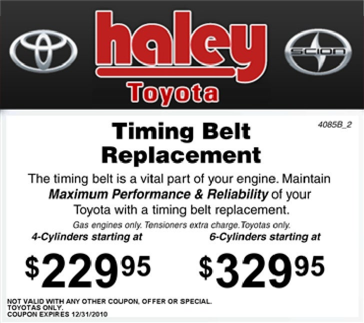 Tremendous Timing Belt Replacement Special Haley Toyota Richmond Va Wiring Cloud Hisonuggs Outletorg