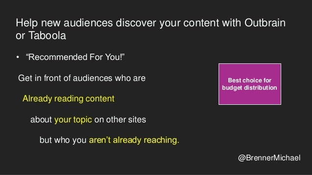 What to track and when Track top content / shares / topics on related sites monthly • Top 50 Influencers • 10 Blog Sites •...