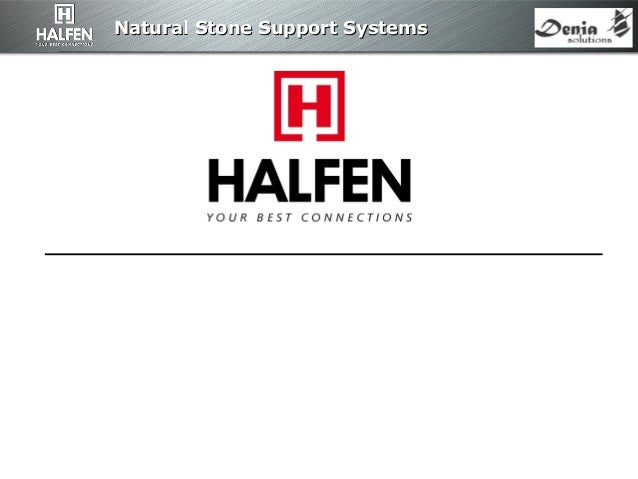 Natural Stone Support SystemsNatural Stone Support Systems