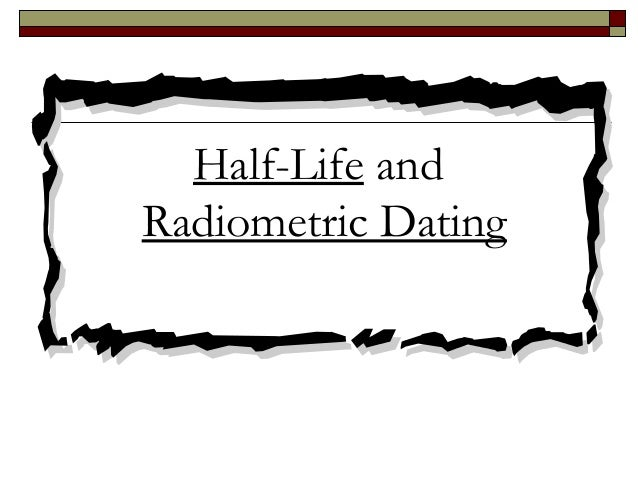 The problem with radiometric dating