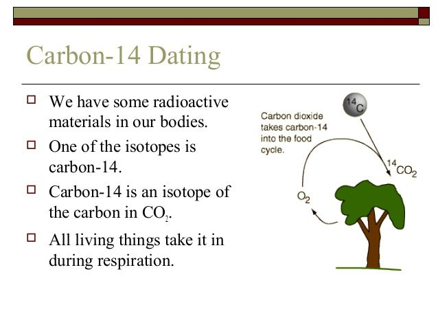carbon 14 dating problem