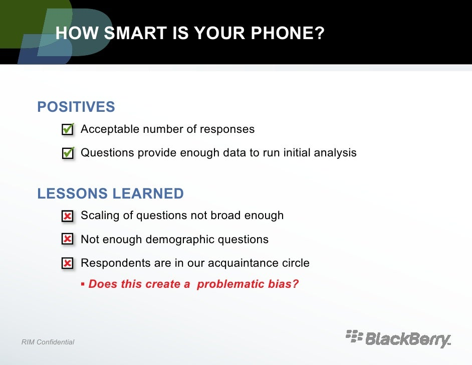 marketing research proposal blackberry iphone Software turns smartphones into tools for medical  telephone into a research tool as soon as enrolled, iphone proprietors  a research essay proposal.