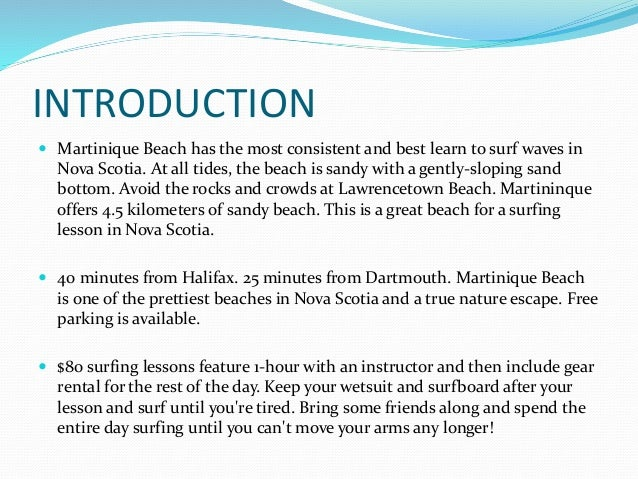 Halifax Surf School, Nova Scotia