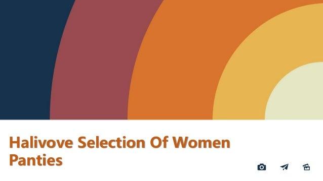 Halivove Selection Of Women Panties