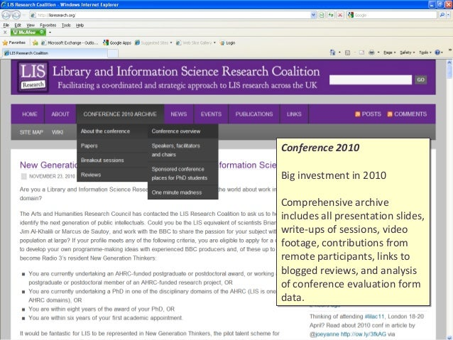 Library and information science research papers