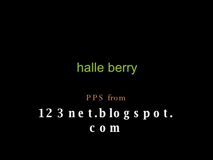 halle berry PPS from 123net.blogspot.com