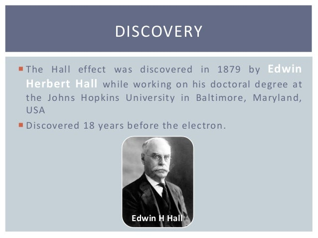 Application of Hall Effect