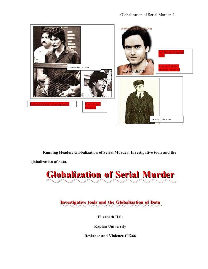 Globalization of Serial Murder 1                                                                                          ...