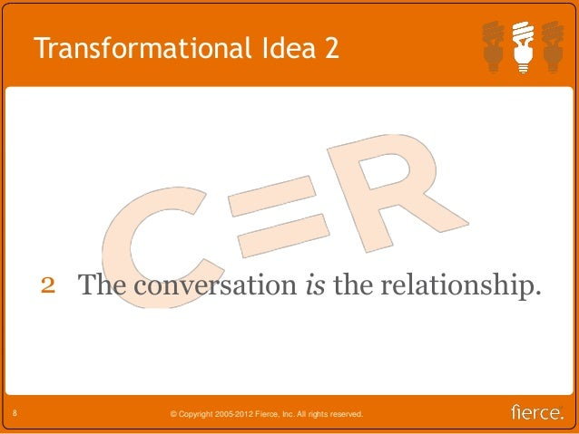define the relationship conversation
