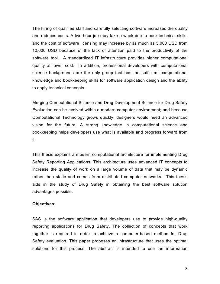 """Standardization of """"Drug Safety"""" Reporting Applications-doc file"""