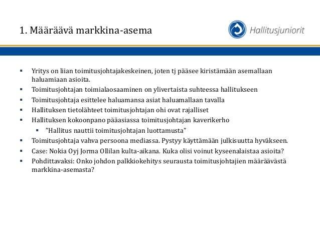 Määräävä Markkina-Asema