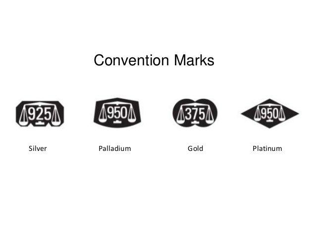 Hallmarks And Symbols For Precious Metals