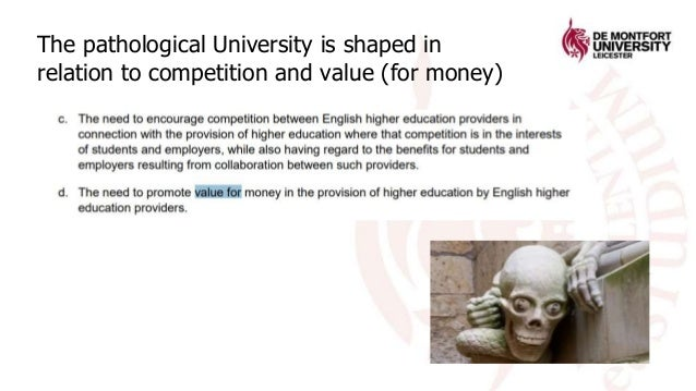 ill-being and the University Slide 3