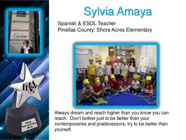2013 FFLA Teacher Awards powerpoint