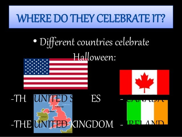 where do they celebrate - Where To Celebrate Halloween